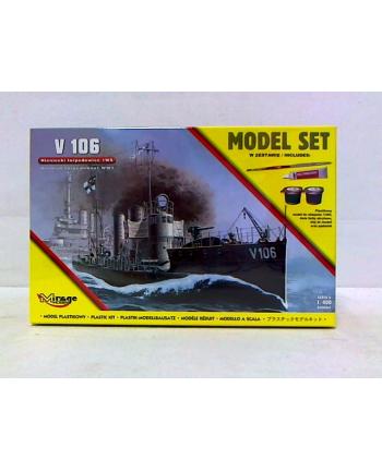 Mirage zesta do sklejania okręt torped V106 MS0065