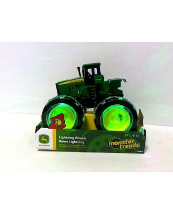 TOMY John Deere traktor Monsterświecące koła 46434