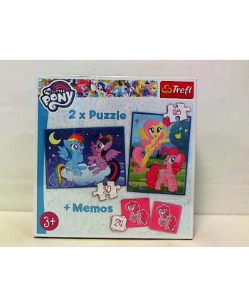 Puzzle 2w1+ MEMOS PRZYJAŹN TO MAGIA 90601