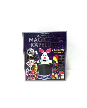 MAGIA magiczny kapelusz - 150 sztuczek 4604