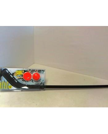 Kij do hokeja ulicznego 136cm + 2 krążki 99299
