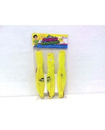 Wesołe żółte balony/piłka 3szt 51106