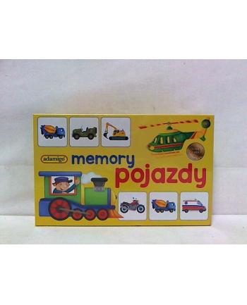 Gra memory mini - pojazdy 07196