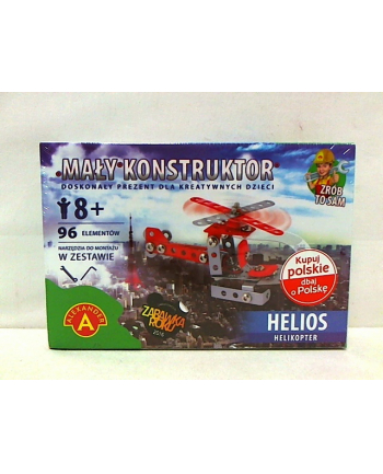 Mały konstruktor Helios helikopter 15577