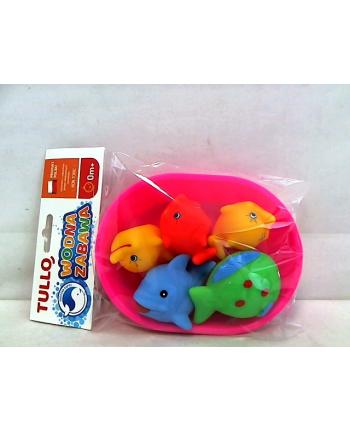 Zabawki do kąpieli 5 szt. w wanience 125