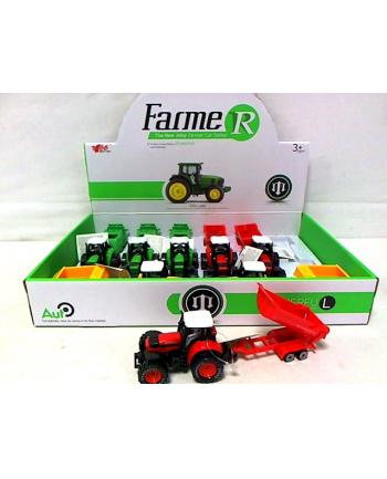 Traktor z przyczepą 25cm św/dźw 8szt/disp BA1634