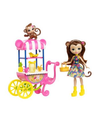 Barbie Enchantimals lalka + pojazd FJH11 /6. (WYSYŁKA LOSOWA, BRAK MOŻLIWOSCI WYBORU)