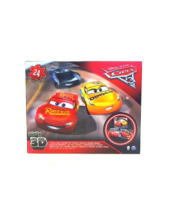 SPIN puzzle 3D Cars 3 6035638 98351