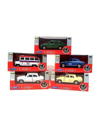 WELLY modele samochodów z epoki PRL 1:34 00884
