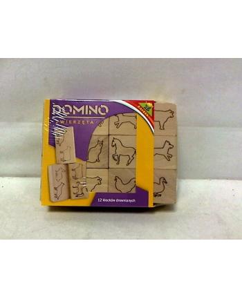 Domino drewniane - zwierzęta 02285