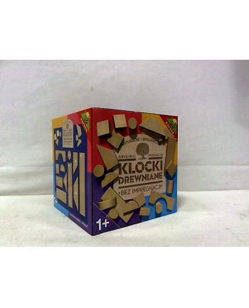 Klocki drewniane - ekologiczne w pudełku 04067