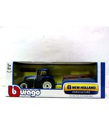 BBU 1:32 New Holland Traktor z przyczepą 44060