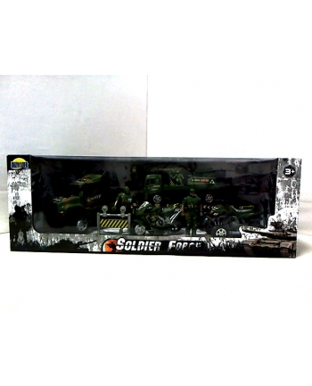 Zestaw wojskowy w pudełku 02433