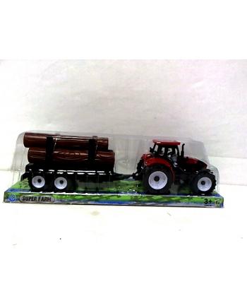 Traktor z przyczepą 4 wzory MA9978-1