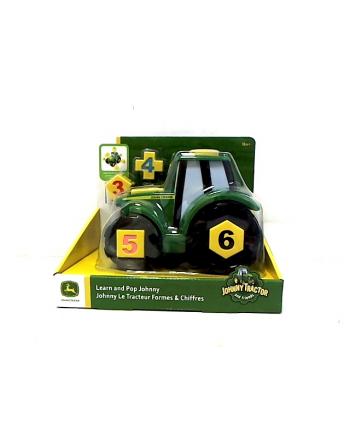 TOMY Ucz się i baw z traktorem Johnny 46654