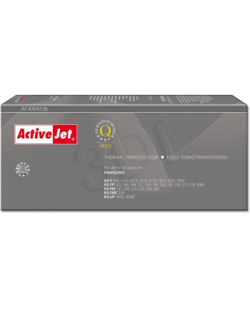 ActiveJet AF-KXFA136 folia kopiująca do faksu Panasonic 2szt. (zamiennik KX-FA136)