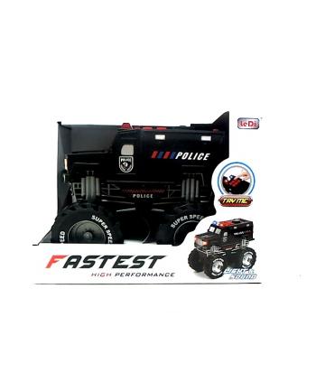 Auto policja truck 24cm  św/dźw H12456