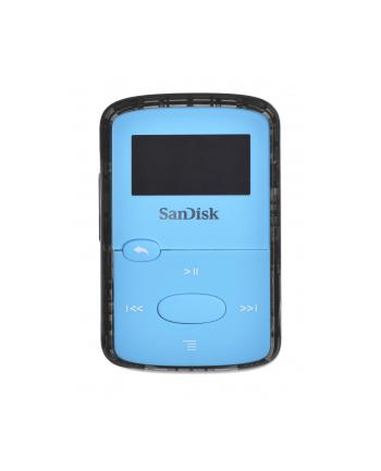 SANDISK MP4 CLIP JAM 8GB NIEBIESKI