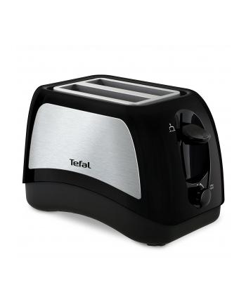 Tefal Delfini Plus TT131D, Toaster - black/silver