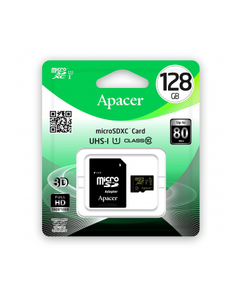 Apacer microSD 128 GB - Class 10, UHS-I U1