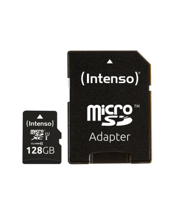 Intenso 128 GB microSDXC + SD adapter