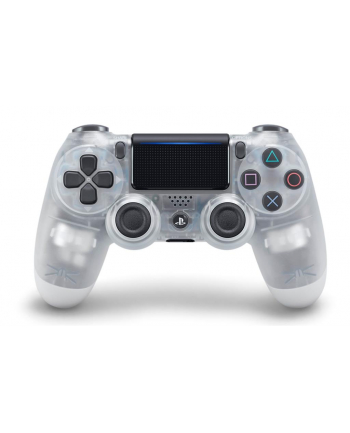 Sony DUALSHOCK 4 Wireless Controller v2, Gamepad - Crystal
