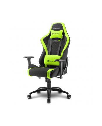 Sharkoon Skiller SGS2 Gaming Seat - black/green