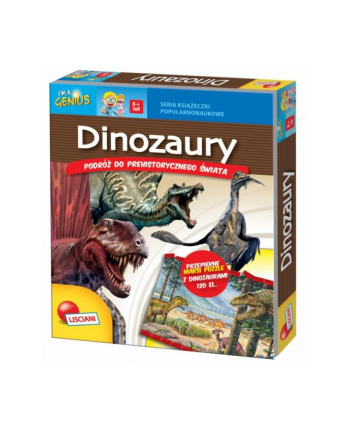Książ. I'm a Genius Dinozaury 78243