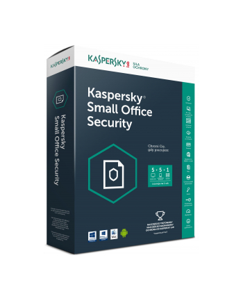 Licencja BOX Kaspersky Small Office Security 2 for Personal Computers and File Servers 1SVR+5WS (lic. niedostępna w ESD)