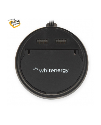 Whitenergy Uniwersalna ładowarka samochodowa 12-24V z wyj. 2xUSB 5V/3.1A