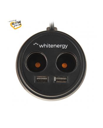 Whitenergy Uniwersalna ładowarka samochodowa 12-24V z wyj. 2xUSB x2 CS 5V/3.1A