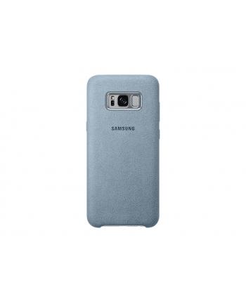 Plecki SAMSUNG (Miętowy/Samsung Galaxy S8/Alcantara)
