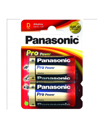 Panasonic Pro Power Gold D LR20PPG/2BP - Mono