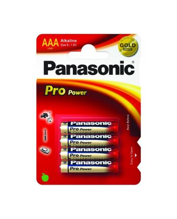 Panasonic Pro Power Gold AAA LR03PPG/4BP - Micro