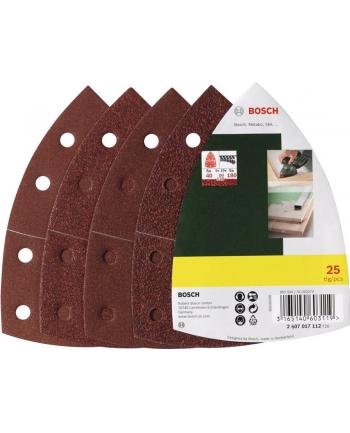 Bosch Papiery ścierne Multi 25 sztuk