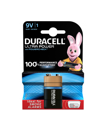 Duracell Ultra Power 6LR61, alkaliczna, 9V (MX1604B1)
