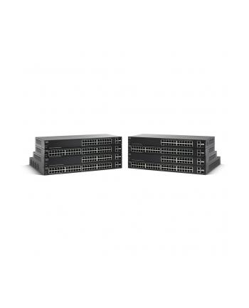 Cisco SG220-26P PoE/GE/GE/SMA/24 - 4x PoE+, 20x PoE, 180W PoE-Budget