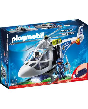 Playmobil City Action / Policja-Helikopter z LED (6874)
