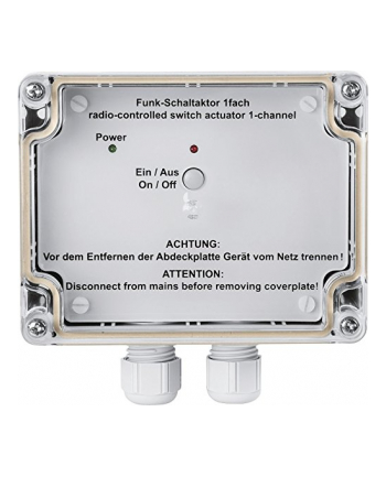 HomeMatic Wireless Switch Actuator 1gang, AP - HM-LC-Sw1-SM