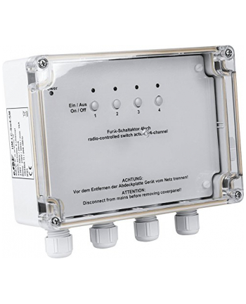 HomeMatic Wireless Switch Actuator 4gang, AP - HM-LC-Sw4-SM