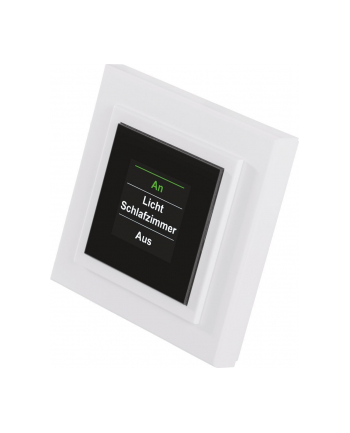 HomeMatic Wireless Display Wall Switch - HM-PB-4Dis-WM