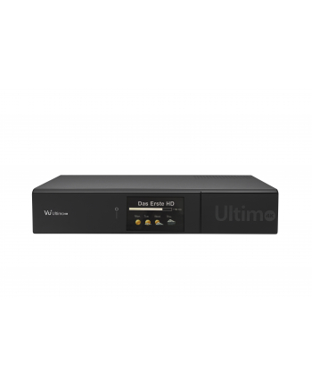 VU+ ULTIMO 4K - 2x DVB-S2/C FBC Twin Tuner, HDMI, (W)LAN