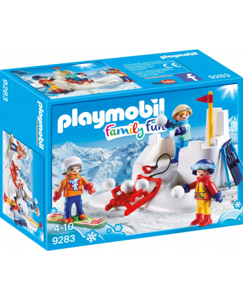 Playmobil snowball battle - 9283