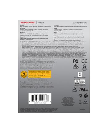SanDisk SSD 2TB 530/560 Ultra 3D - SSD - SATA - 2.5
