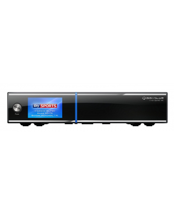 GigaBlue Ultra HD Quad HD PVR 2xS2 - DVB-S, DVB-S2, DVB-C, DVB-T2