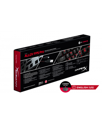 HyperX Alloy FPS Pro - MX Red - US Layout