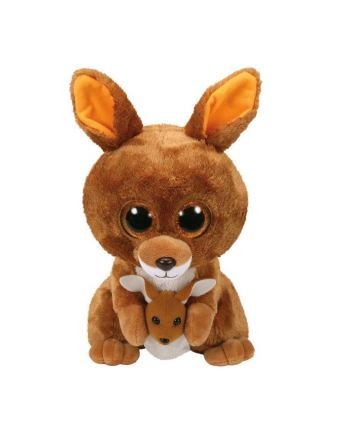 TY BEANIE BOOS - brązowy kangur Kipper 24cm 37160