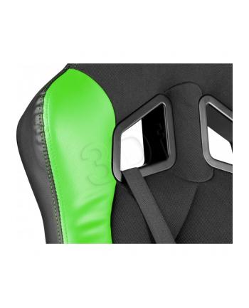 Fotel dla graczy GENESIS Nitro330 czarno-zielony