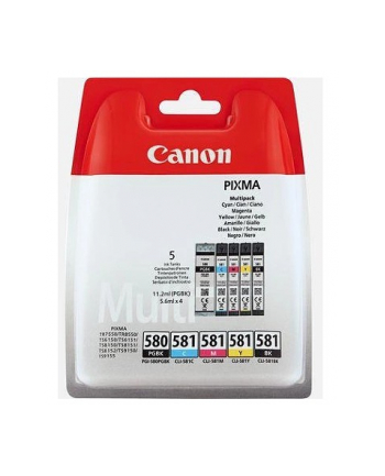 Tusz CANON PGI-580/CLI-581 BK/CMYK MULTI BL SEC
