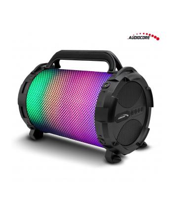 GreenBlue Audiocore AC885 Głośnik bazooka, bluetooth, FM, karta microSD LED, 2500mAh